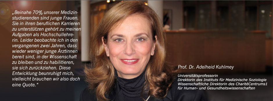 Pro Quote Medizin – Mehr Frauen an die Spitze!